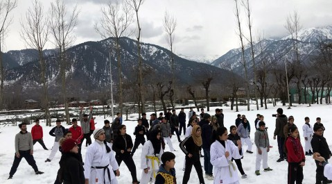 MARTIAL ART WINTER CAMP