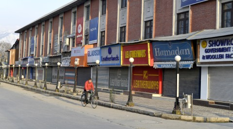 Kashmir shuts for 2nd day against NIA raids, mass arrests and possible tinkering with state subject law