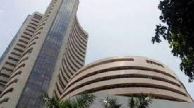 Sensex recovers by 143 pts