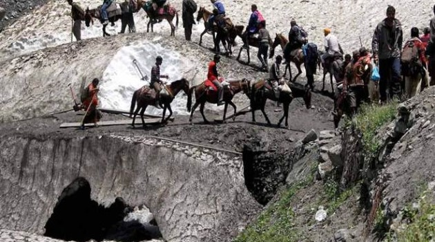 Fresh batch of 3967 pilgrims leave for Amarnath Cave Shrine from Jammu