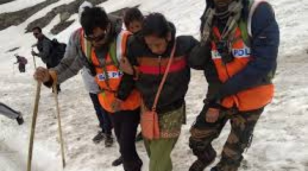 Batch of 5,273 pilgrims leave for Amarnath Cave Shrine from Jammu
