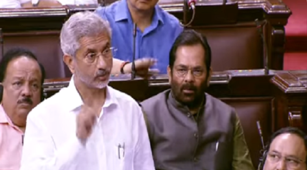 Trump remarks rock Parl: All outstanding issues with Pak are bilateral, says Dr Jaishankar
