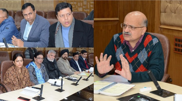 Advisor Sharma, CS hold VC with DCs to review restoration of power, water, roads