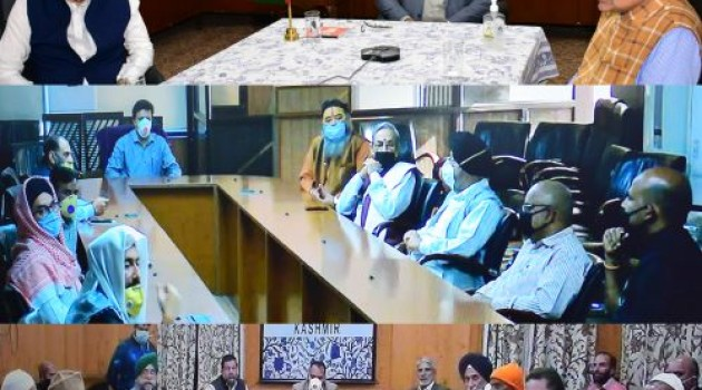 Lt Governor appeals to religious leaders to spread awareness among their followers against COVID-19