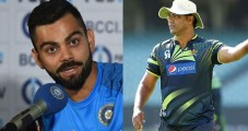 Waqar Younis contradicts  Akram's statement on Virat Kohli