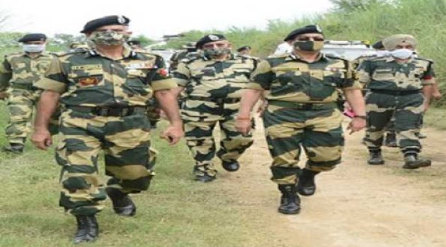 BSF foils infiltration attempt by heavily armed terrorists in Samba