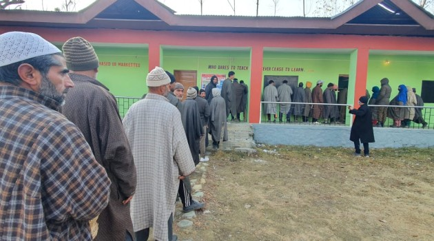 First phase of DDC polls underway amid tight security arrangements