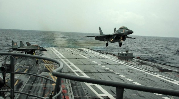 Indian Navy's MiG-29K crashes over Arabian Sea