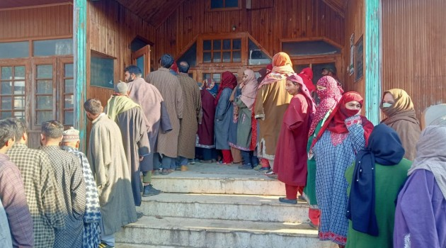 DDC Elections- 7th Phase:47.43% votes polled till 1PM across J&K