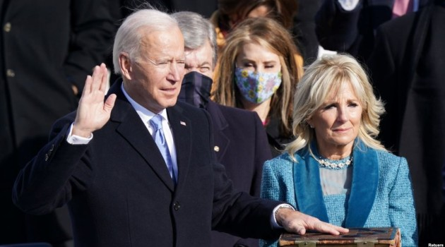 Biden reverses US process of withdrawal from WHO