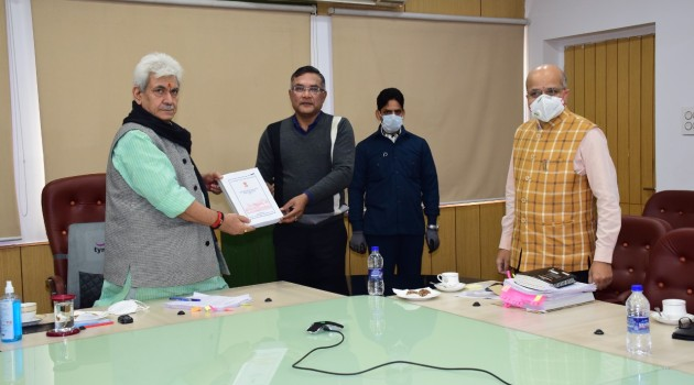 AC approves adoption of J&K PWD Engineering Manual 2020