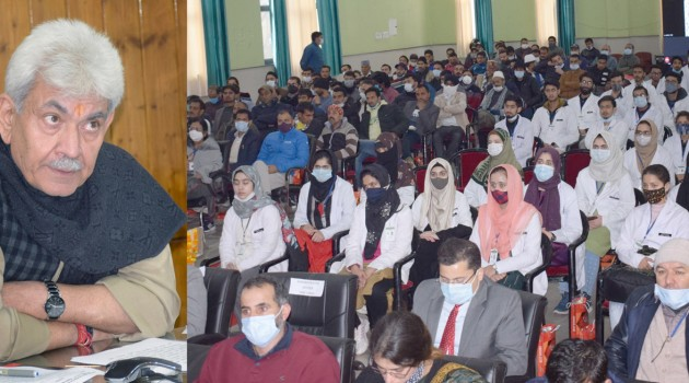 MBBS seats have been increased to address shortage of doctors in J&K: LG