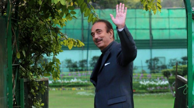 G N Azad arrives in Jammu for three-day visit