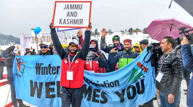 J&K tops medals tally in Khelo India Winter National Games in Gulmarg
