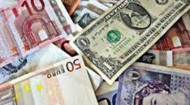 Euro up; Pound, USD down