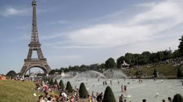 France hits record temperature of 45.9C