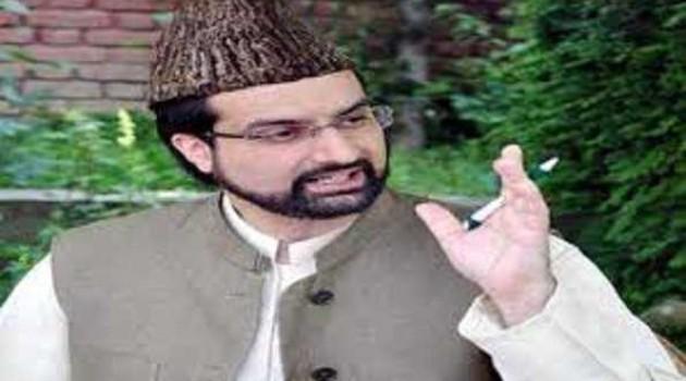 Mirwaiz welcomes Trump's offer to 'mediate on Kashmir issue'