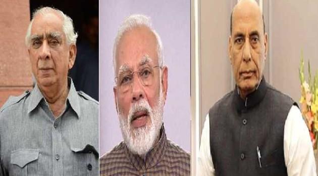 PM, Rajnath express condolences on death of Jaswant Singh