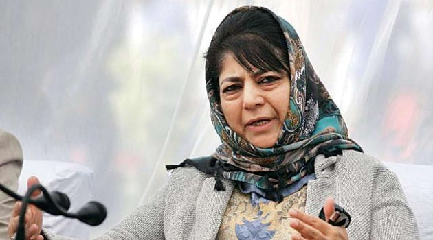 "Forcing civilians to chant ""Jai Shri Ram"" by Army seems GoI's vision for integrating J&K into India: Mehbooba Mufti"