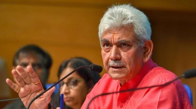 Won't rest till we root-out militancy from J&K soil: LG Manoj Sinha