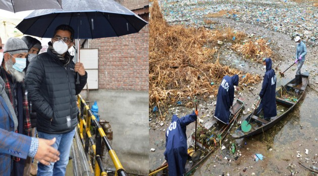 Pristine glory of Gillsar, Khuhahsar will be restored: Div Com Kashmir