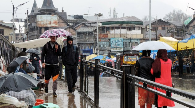 More rain expected in Kashmir today