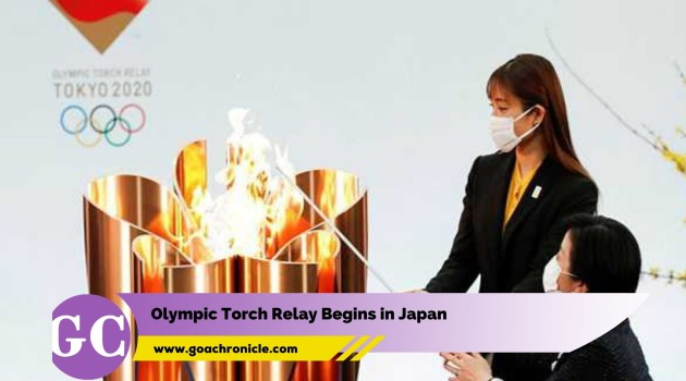 Olympic Torch Relay Begins in Japan