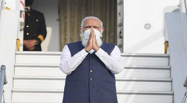 Yoga shows way from negativity to creativity: PM