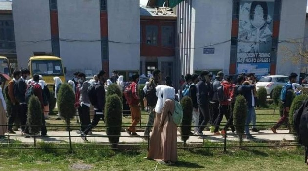 Clashes in GDC Tral as undertrial student appears in exams