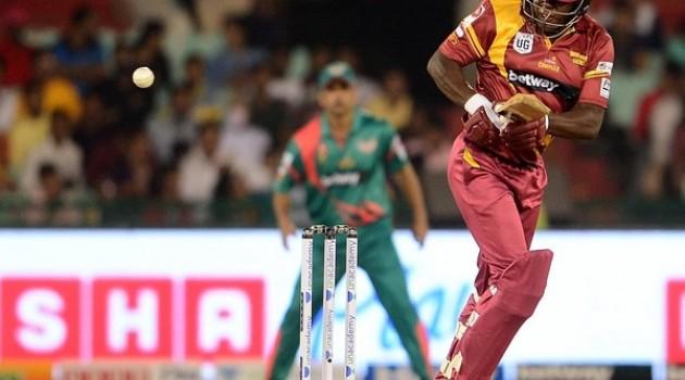 Windies down Bangladesh for maiden win