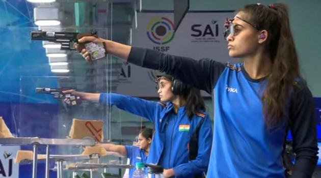 ISSF WC: Chinky Yadav clinches gold in women's 25M Pistol