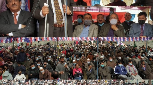 Apni Party became peoples' voice when all other political parties chose to be mute spectators: Altaf Bukhari