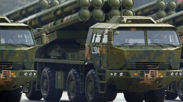 China deploys advanced rocket launchers in western theatre command