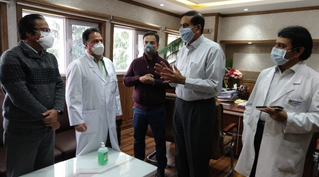 Adequate oxygen available to combat any emergency: Rajan Thakur
