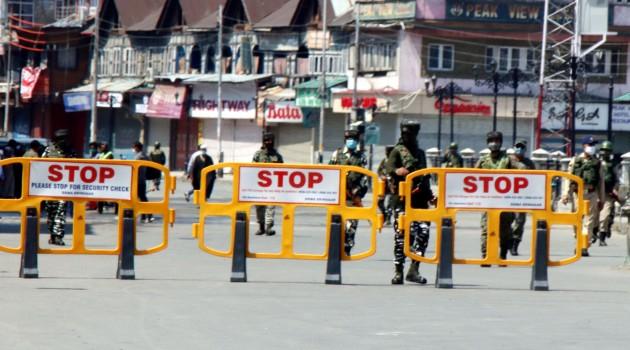 J-K govt extends Covid lockdown till 17 May