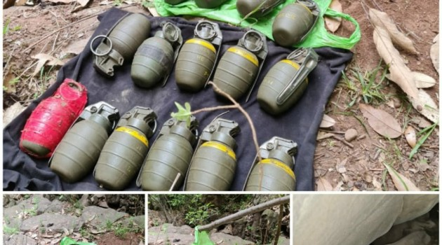 19 grenades recovered in Poonch