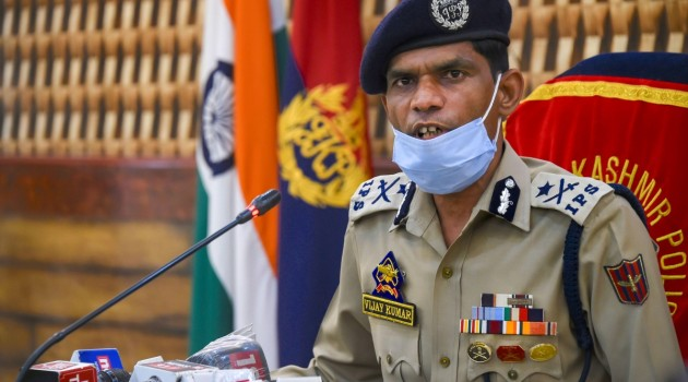 Drones a new technical threat, all security installations, LoC in Kashmir on high alert: IGP Kumar