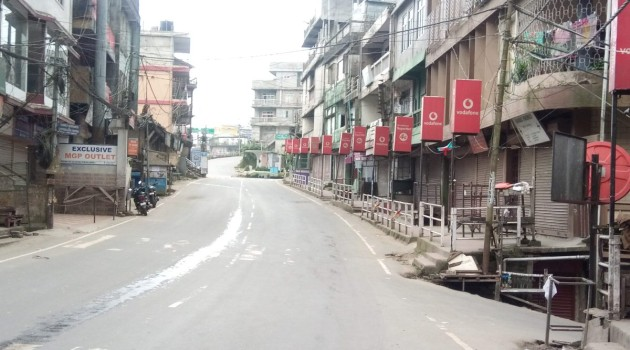 Corona Curfew' Extended In All 20 Districts of Jammu and Kashmir Till May 17