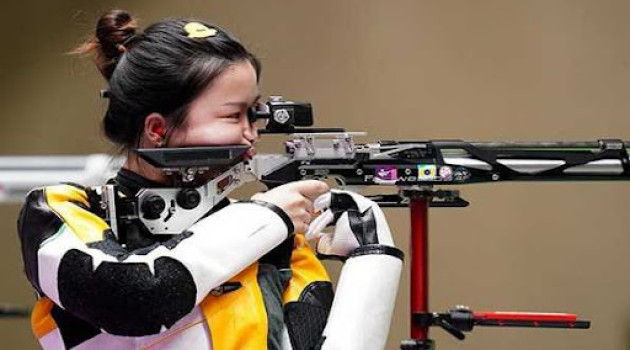 Chinese shooter Yang Qian wins first gold of Tokyo 2020 in women's 10m air rifle