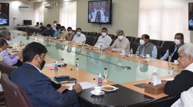Lt Governor reviews preparations for Independence Day celebrations