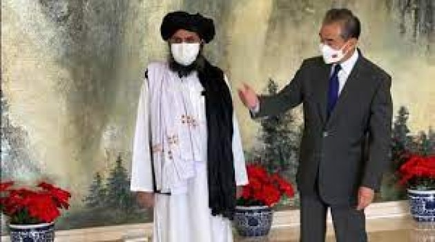 Taliban delegation meets Chinese foreign minister Wang Yi
