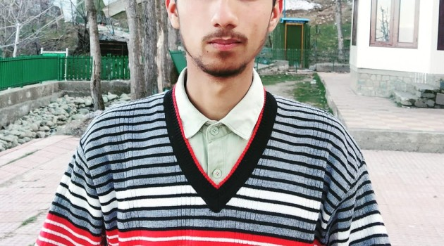 Meet a new perception  of Kashmir, Nasir Roshan khan talented and accomplished Author dwelling from the town of mountains.
