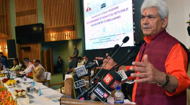 Committed to hold Assembly polls soon after delimitation process ends: J&K LG Manoj Sinha