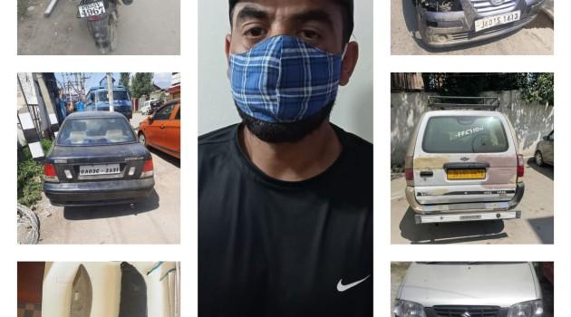 Police arrests notorious robber in Srinagar