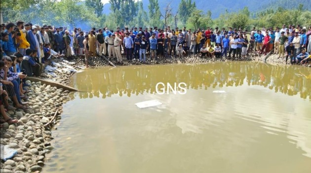 Teenager Rescued in Unconscious Condition from Under-construction Pond at GDC Sogam