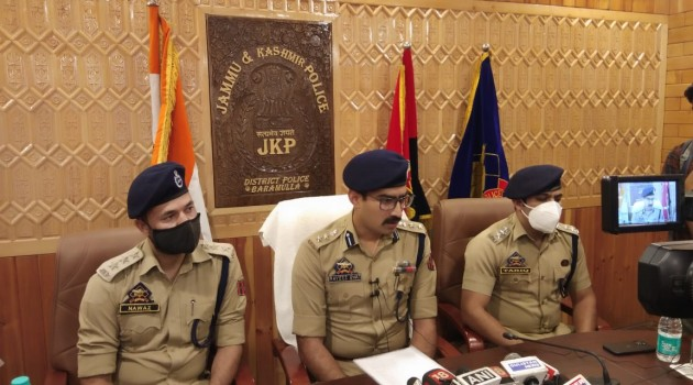 Grenade attack: Baramullla Police arrested all the accused Persons Within Seven Days