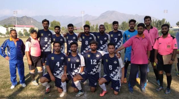 DFA Srinagar Annual League Football Tournament 2021.