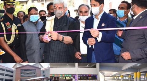 Lt Governor dedicates Key urban transformation projects of Srinagar to the public