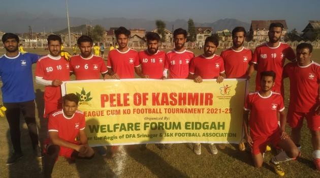 PELE of KASHMIR League cum Knockout Football Tournament 2021