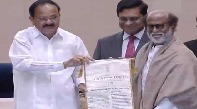 Rajini conferred with Dadasaheb Phalke award, TN Governor, Stalin extend greetings